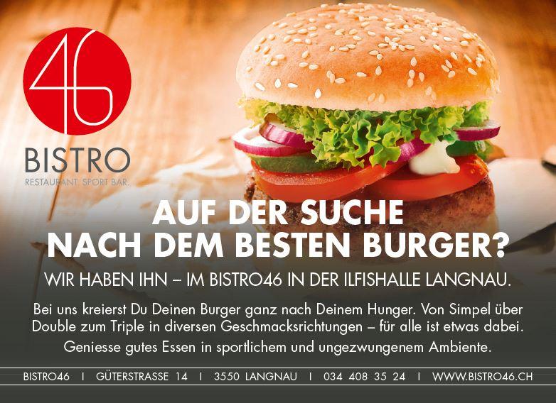 Burger-Flyer Front