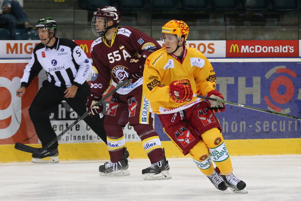 13.9.2016 - HC Servette-Genf vs. SCL Tigers