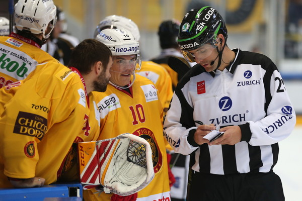 17.9.2016 - HC Lugano vs. SCL Tigers